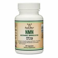 NMN Supplement 250mg Per Serving (Nicotinamide Mononucleotide), to Boost NAD+