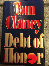 Debt of Honor by Tom Clancy (1994, Hardcover) FIRST PRESSING **SIGNED**