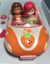 Strawberry Shortcake Lot Of Two Dolls, Convertible Car & Accesories