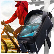 Bicycle Frame Case Waterproof for all Apple IPHONE Top Tube Mobile Phone Holder