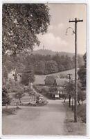 Ansichtskarte Kurort Oybin-Hain - Partie im Zittauer Gebirge - schwarz/weiß