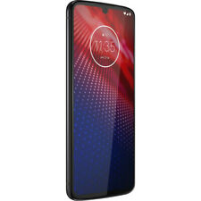 Motorola Moto Z4 XT1980-4 128GB White Flash Gray Verizon+GSM Unlocked Excellent