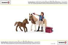 Horse Club Soigneuse De Chevaux Avec Poney Shetland SCHLEICH - SC 42362