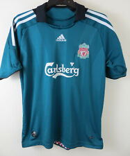 Kids Liverpool Adidas Football Shirt 2008 Third Medium M Boys 9-10 11-12 30/32