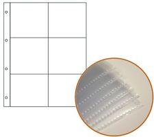 A4 6-pocket Mangas-pequeña Fotografía Bolsillos-de calidad de archivo (paquete De 10)