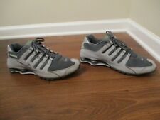Classic 2011 Used Worn Size 12 Nike Shox NZ Shoes Wolf Grey, Dark Grey, Lime