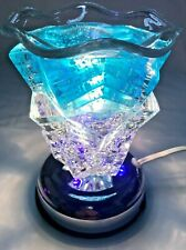 Electric Touch Fragrance Lamp/Oil Burner/Wax Warmer/Night Light with LED #1672