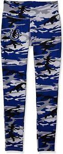 Zubaz Indianapolis Colts NFL Women's Camo Print Legging, Blue