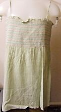 George - Light Green Summer Smock Top - age  14 - 15 yrs - new without tags