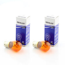 581 PY21W Neolux Front Indicator Lights Bulbs Standard Low Cost Replacement