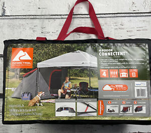 Camping Outdoor Tent 4-Person Tent Straight-leg Canopy Sold Separately New