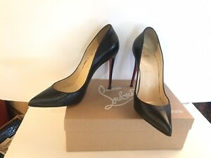 """Christian Louboutin 40 US size 9 / 9.5 pigalle follies black nappa leather 4.5"""""""