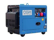 9 kvA Diesel NOT-STROMAGGREGAT STROMERZEUGER LEISE CGM Italia