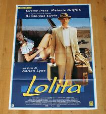 LOLITA poster manifesto affiche Jeremy Irons Melanie Griffith Adrian Lyne