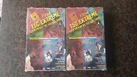 (2) 1994 TOPPS STADIUM CLUB TSC EXTREME FOOTBALL CARDS Series I Factory Sealed