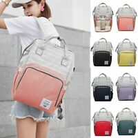 LEQUEEN Waterproof Mummy Diaper Baby Bags Maternity Nappy Traveling Backpack