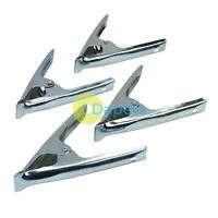 4 Strong Market Stall Spring Clamps Large Metal Heavy Duty Clips Tarpaulin 6""