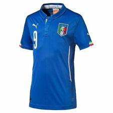 Puma Italien Balotelli Heim Trikot/Home Shirt 14/15 , Farbe Blau  Gr. XXL