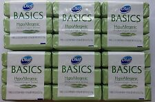 18ct NEW DIAL  BASICS HYPOALLERGENIC DERMATOLOGIST TESTED BAR SOAPS