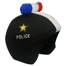 CoolCasc LED LIGHT UP Police Cool Snowboard Snow Bike Bicycle Ski Helmet Cover