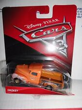 DISNEY PIXAR CARS 3 SMOKEY RARE LONG BED WITH SPARE TIRE $3.49 SHIPPING