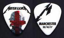 Metallica James Hetfield Manchester 10/28/17 Guitar Pick - 2017 WorldWired Tour