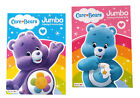 Care Bears Kids Coloring Book and Jumbo Activity Books Set of 2 NEW