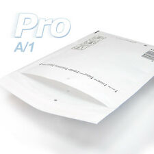 200 Enveloppes à bulles blanches gamme PRO taille A/1 format utile 90x165mm