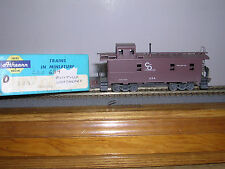 Athearn #1265 C.& O.for Progress 34' Cupola Caboose #634 Built-up & Weathered