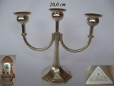 Kerzenleuchter 20 cm WMF La Galleria silberfarbig Metall 580 g Kerzenständer