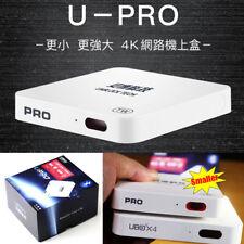 2018最新安博盒子四代更新 Unblock Tech UBOX4 PRO TV Box Bluetooth Adults Channels 中港台日韓