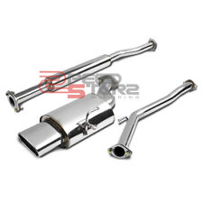 "FOR NISSAN ALTIMA L31 2.5L STAINLESS 2.25"" CATBACK EXHAUST PIPE MUFFLER OVAL TIP"