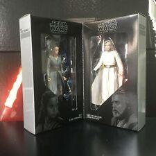 Star Wars Black Series SDCC Exclusive 2017 - Rey + Luke Jedi Training Master