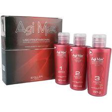 Agi Max - Kera-X Straightening Keratin Treatment Kit - (3x) 60ml - exp 2019