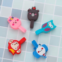 Home Tool Cute Silicone Cable Organizer Earphone Clips Winder Cord Cord Winder