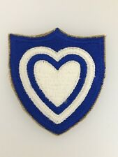 WWII U.S. Army 24th Corps cloth sleeve patch