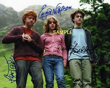 4x6 OR 8x10 SIGNED AUTOGRAPH PHOTO REPRINT OF HARRY POTTER CAST WITH BORDERS #TP