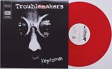 Troublemakers-KLEPTOMAN LP red vinyl attentat anti Cimex perverts GBG sound