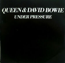 "7"" 1981 KULT! QUEEN & DAVID BOWIE Under Pressure /VG++"