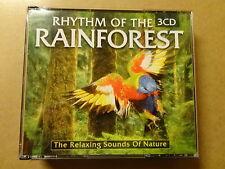 3-DISC CD BOX / RHYTHM OF THE RAINFOREST