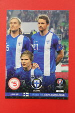 ADRENALYN ROAD TO EURO 2016 SUOMI 216 LINE-UP  MINT!!!!