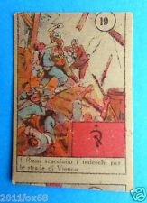 figurines v.a.v. picture cards cromos figurine vav #19 anni 40 vienna russia ss