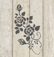 Stencil Shabby Chic Francese Vintage Arredamento Art Craft 190 MICRON in MYLAR a5 (123)