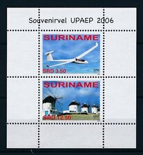 [SU1394] Suriname Surinam 2006 UPAEP Aviation Aircraft Windmill Sheet MNH