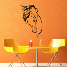 Horse Head Wall Decals Horse Vinyl Wall Stickers Animal Decal Living Room Decals