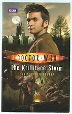 Doctor Who: The Krillitane Storm Christopher Cooper BBC Paperback 2010 Good