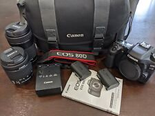 Canon EOS 80D Bundle