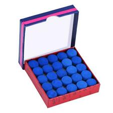 13mm 50 Pcs/Lot Blue Glue-on Single-layer Billiards Pool Snooker Cue Tips Tool