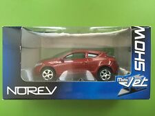 1:64 NOREV 3 Inc Show Room Renault MEGANE COUPE' rare model no 1:43