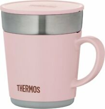 Thermos Thermal Mug Cup 240ml Light Pink JDC-241LP Keep Warm/Cold 200g